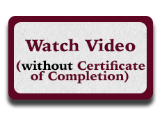 Watch Video without receiving a Certificate of Completion
